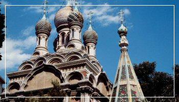 <b>La Chiesa Russa Ortodossa a Sanremo</b> - Foto APT RdF