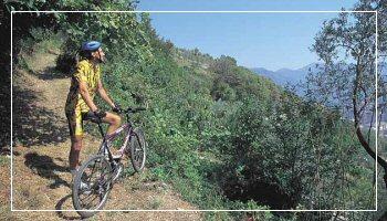 sport aria aperta - Mountain Bike nell'entroterra di Sanremo - Foto APT RdF