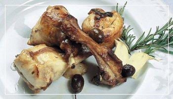 <b>Il congilio al vermentino con olive taggiasche</b> - Foto Sanremo Promotion